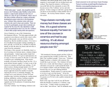 Teaching yoga to the over-50s – KempTown Rag article