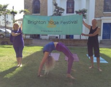 Free Brighton Yoga Festival Sat 26 July – Be There!